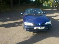 Convertible 1.6. Low mileage. Years Mot. Some history