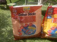 Fish food sticks