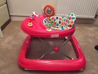 Red Baby Walker and Activity Centre