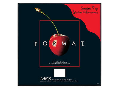 MCS Format Frame 12x12 Black (Same Shipping Any Qty)
