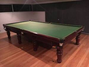 Heiron and Smith 12 x 6 Full size slate billiard table. Coorparoo Brisbane South East Preview