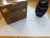Nikon 18-55 VRii and Micro-Nikon 105, f4.