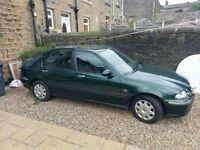 Rover 45 -2001 grab a bargain only 64k