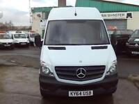 Mercedes-Benz Sprinter 313cdi LWB High Roof 130ps New Shape DIESEL MANUAL (2014)