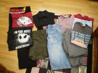 bundle mens small clothes age 13/14 good clean conditon
