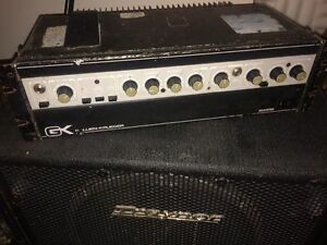 Gallien Krueger 800RB and Traynor TC115 Cabinet