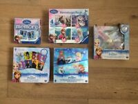 Bundle of Frozen Board Games - In Great condition and with boxes
