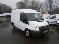Ford Transit T280 SWB Medium Roof Van tdci 100ps DIESEL MANUAL WHITE (2013)