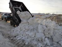 Parking Lot - Push and Pile, Sanding, Snow Hauling
