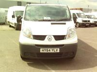 Renault Trafic Trafic SL27dci 115PS DIESEL MANUAL WHITE (2014)