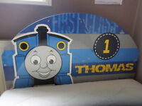 Thomas the tank engine single metal bed and foam mattress