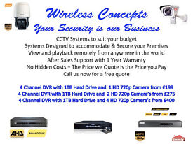 GREAT DEALS ON CCTV SUPPLIED AND FITTED