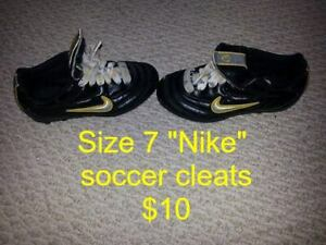 Child's Sizes 7 and 11.5 Nike Soccer Cleats for Sale!