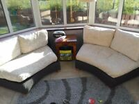 Conservatory furniture set- 2 x sofas and one seat