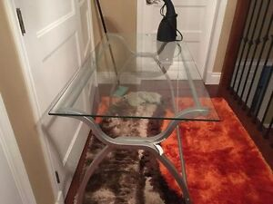 STUDY GLASS TABLE FOR CHEAP, PRICE REDUCED BY A LOT