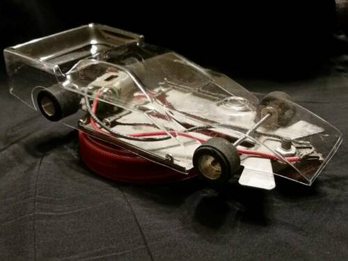 1/24  FIGURE 8 SLOT CAR BODY-CLEAR BODY ONLY- HIGH DOWN FORCE  #4130