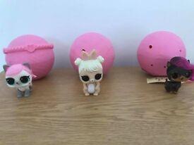 Duplicate LOL Surprise Pets (accessories still sealed)