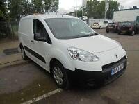 Peugeot Partner L1 850 S 1.6 Hdi 92 Van SLD DIESEL MANUAL WHITE (2013)