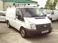 Ford Transit T280 swb Flat Roof 125ps DIESEL MANUAL WHITE (2014)