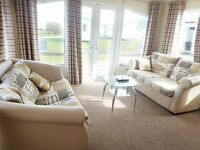 static caravan for sale at Sandy Bay! Stunning holiday park! Direct beach access!