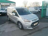 Ford Transit Connect T200 swb 1.6tdci 115ps Limited Sat Nav DIESEL MANUAL (2014)