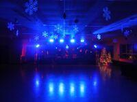 Événements illimités sono vidéo éclairage mariage party de noel