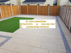 Gardening and landscaping services flagging fencing turf gravelling