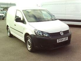Volkswagen Caddy C20 TDI 102PS STARTLINE VAN DIESEL MANUAL WHITE (2014)
