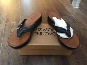 Miz Moo Wedge sandals- 9