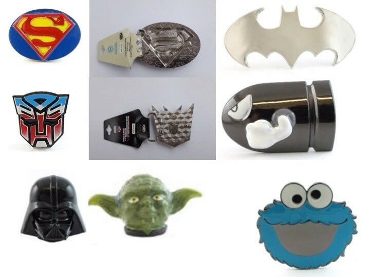 Batman buckle Superman StarWars License transformers movie Skulls