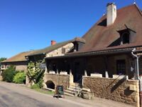 A ready-made business and home in a beautiful old Auberge in Burgundy, France