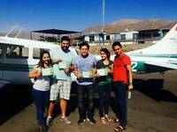 Over flight to Nazca Line