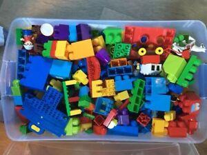 Container of Mega Blocks