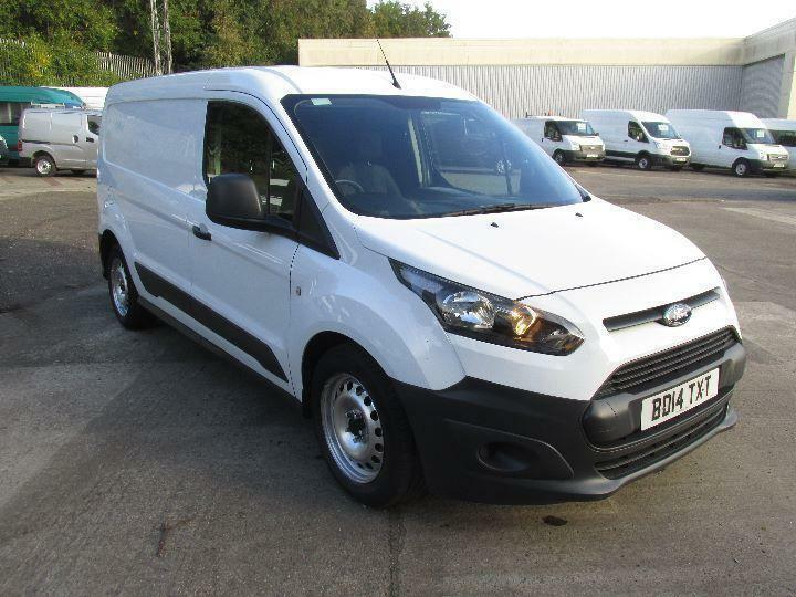 Ford Transit Connect 210 L2 1.6 Tdci 75Ps Van DIESEL MANUAL WHITE (2014)