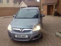 Vauxhall Zafira 1.8 Exclusiv {36 miles on the clock}
