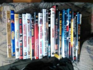 used DVDs over 200 available