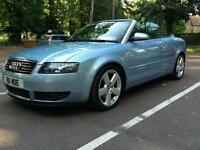 Audi a4 2.5 tdi convertible sport 2003