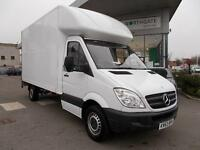 Mercedes-Benz Sprinter 3.5T Luton with Tail Lift DIESEL MANUAL WHITE (2013)