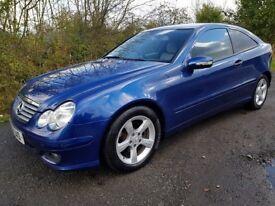 2007 *56* Mercedes-Benz C200 **DIESEL**LOW MILES**6 SPEED MANUAL**LONG MOT**Clean & Tidy