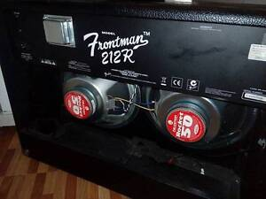 Fender Frontman 212r with Celestion Rocket 50 speakers Bankstown Bankstown Area Preview