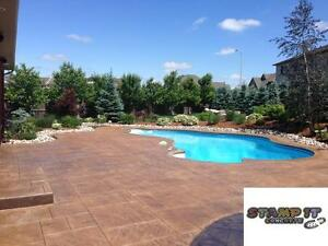 Stamped Concrete Resealing / Restoration And More! London Ontario image 7