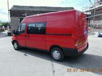 2 x transit vans for sale 2003 and 2004 both with mot and ready for work