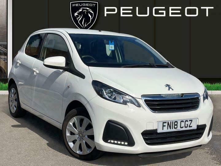 2018 Peugeot 108 1.0 Active Hatchback 5dr Petrol 68 Ps Hatchback PETROL Manual
