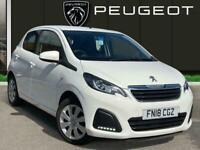2018 Peugeot 108 1.0 Active Hatchback 5dr Petrol 68 Ps Hatchback PETROL Manual