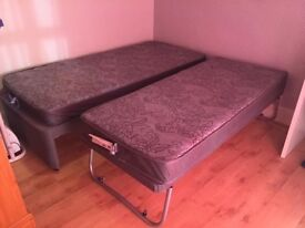 Single bed, with additional pull out bed
