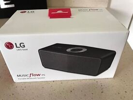 LG P5 Bluetooth musicflow Speaker