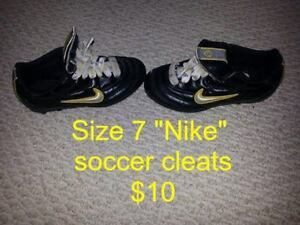 Kid's Sizes 7 and 11.5 Nike Soccer Cleats for Sale!