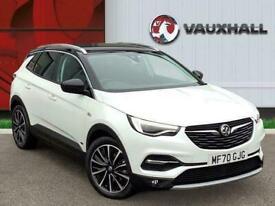 2020 Vauxhall Grandland X 1.6 13.2kwh Elite Nav Suv 5dr Petrol Plug In Hybrid Au