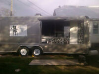mobile food truck / trailer chip stand