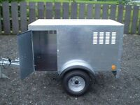 NEW GALVANISED DOG TRAILERS